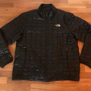 Men's North Face Thermoball Black Down Jacket XL